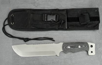 Punisher style knife