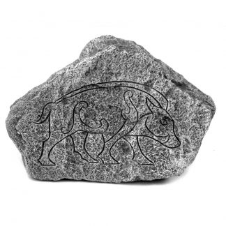 Pictish Stone Based on the Boar Engravings.