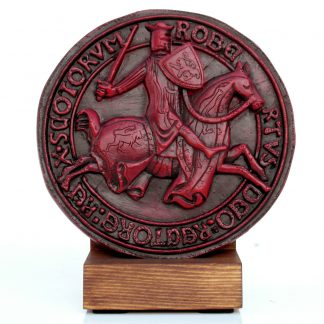 The Great Seal Of Robert The Bruce With Stand