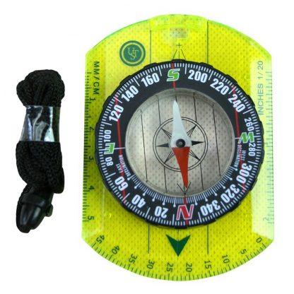 Orienteering Compass: