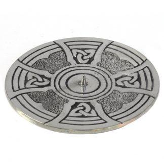 Celtic Cross Candle Holder